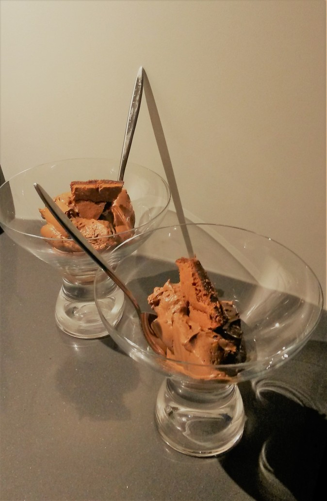 chocomousse brownie