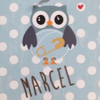 geboortekaartje marcel